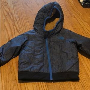 North face jacket size 6-12m